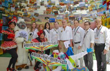 Stand de la Gobernación del Atlántico en el pasado Congreso de Anato realizado en Barranquilla.