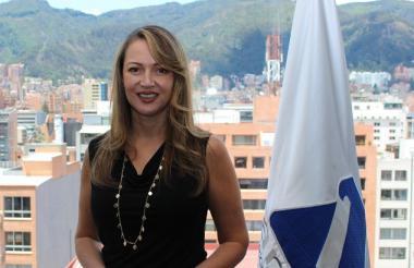 La presidente de Anato, Paula Cortés Calle.
