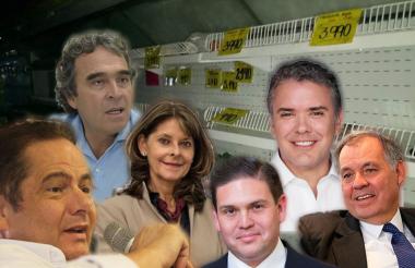 Candidatos presidenciales hablan sobre la incautación de bienes a las Farc. ( De la Calle, Córdoba y Petro fueron consultados pero no respondieron)