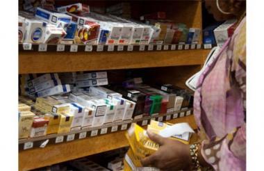 Venta de cigarrillos. Imagen usada para ilustrar la nota.