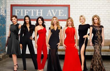 Las mujeres que hacen parte de The Real Housewives of New York City y visitaron Cartagena.