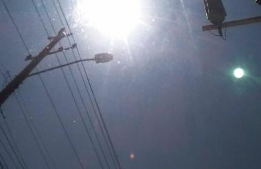 Un usuario reportó el raro objeto en la calle 76 con carrera 59.