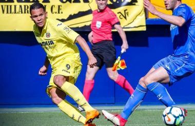 Carlos Bacca envió un centro rasante para que Enes Unal recibiera y anotara el gol victorioso.