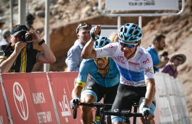 El colombiano Miguel Ángel López fue segundo en el Tour de Oman hace unas semanas.