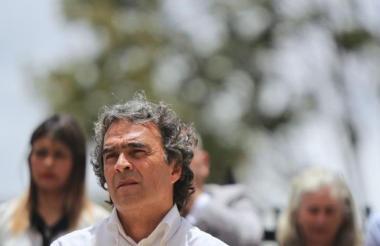 Sergio Fajardo, candidato presidencial de la Coalición Colombia.