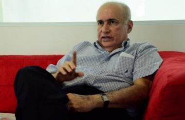 Danilo Devis, representante de la cazatesoros estadounidense, Sea Search Armada.