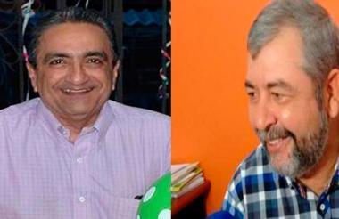 Juan David Náder y Edwin Preciado.