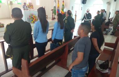 Eucaristía por el primer mes de los atentados terroristas contra la Estación San José.