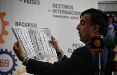 Registrador Nacional , Juan Carlos Galindo.
