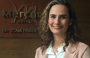Paola García, la nueva gerente.