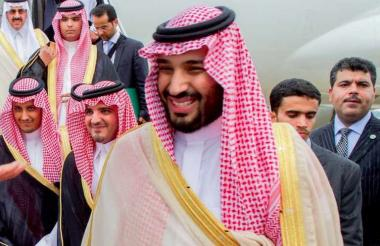 Mohamed bin Salmán, príncipe heredero de Arabia Saudita.