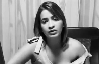 Anny Sarmiento, ex pareja de Yader Romero.