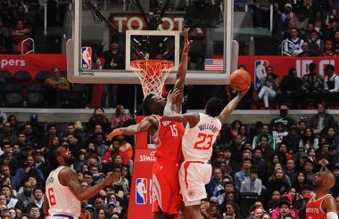 Acción en la NBA