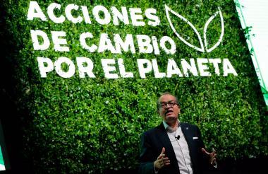 El procurador Fernando Carrillo durante el evento de este jueves en Bogotá.