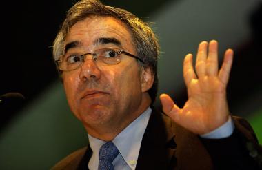 Exministro Diego Palacio.