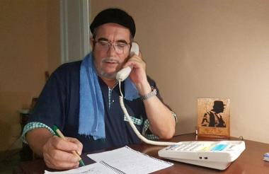 Rodrigo Londoño, candidato presidencial de la Farc.