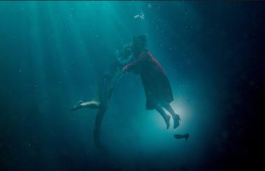 """Imagen de la película """"La forma del agua""""."""