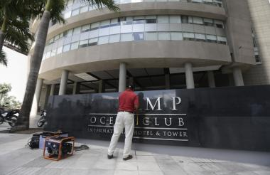 El hotel está ubicado en un sector exclusivo de Ciudad de Panamá.