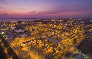 Refinería de Ecopetrol en Cartagena.