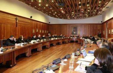 Sala plena del Consejo de Estado.