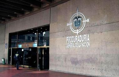 Sede de la Procuraduría General en Bogotá.