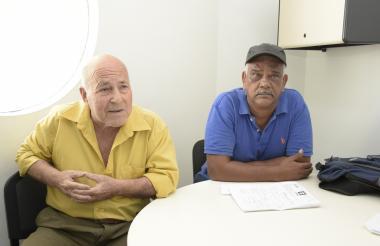 Juan Ramón Cabrera Amaya y José Eugenio Rodríguez Zapata, denunciantes.