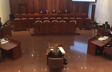 La Procuraduría General de la Nación le solicitó al Consejo de Estado que decrete la pérdida de investidura de la representante a la Cámara por el departamento de Caldas, Luz Adriana Moreno Marmolejo.