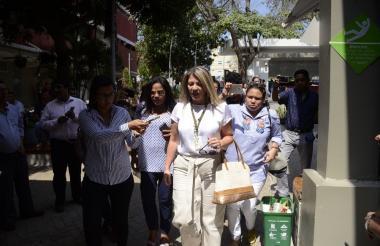 Ángela Bedoya, directora seccional de Fiscalías, ingresa a la Universidad Autónoma del Caribe.