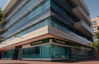 Edificio del Banco Falabella.