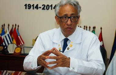 Carlos Valdés, director del Instituto de Medicina Legal y Ciencias Forenses.
