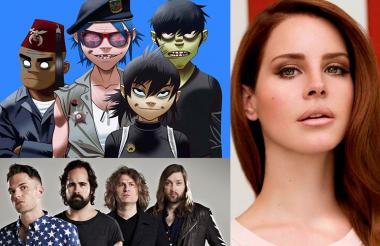 Gorillaz, The Killers y Lana del Rey son algunos de los artistas que participarán en el Estéreo Picnic 2018.