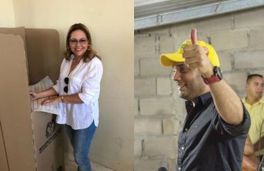 María Cristina Soto y Alfredo Deluque ganaron curules en la Cámara de Representantes.