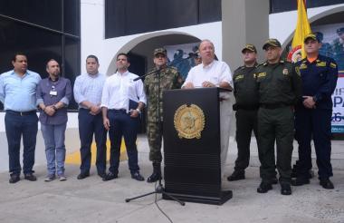 El ministro de Defensa Luis Carlos Villegas.