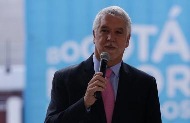 Enrique Peñalosa, alcalde mayor de Bogotá.