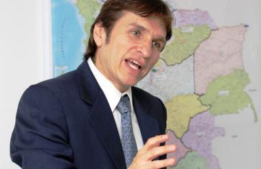 Javier Jaramillo, superintendente de transporte.