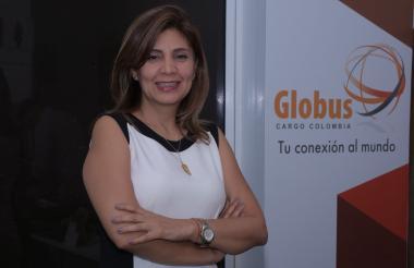 Marcela Vásquez, gerente de Globus International Cargo.