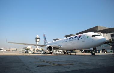 Avión de Latam.