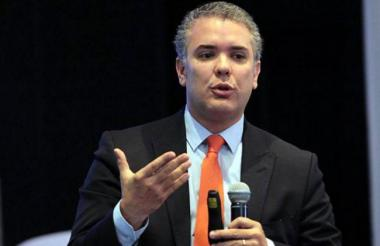 Iván Duque, candidato presidencial del Centro Democrático.