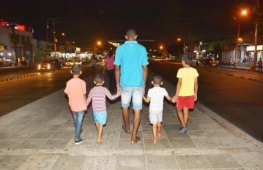 El 'Lobo Feroz' se aprovechaba de menores de edad habitantes de la calle.