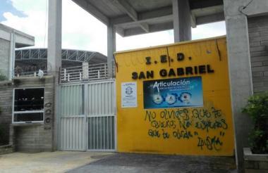 Fachada del Colegio Distrital San Gabriel.