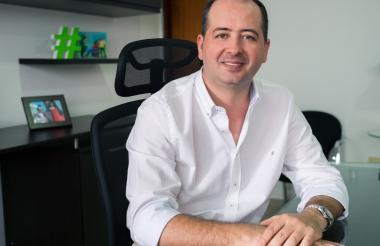 El alcalde de Montería, Marcos Pineda.
