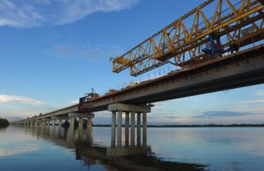 El Viaducto hace parte del proyecto 4G Cartagena- Barranquilla y Circunvalar de la Prosperidad.