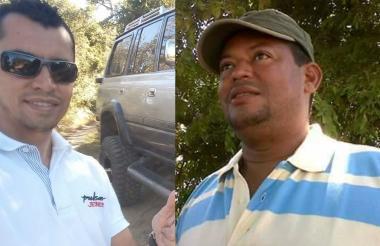 Jeiner Jair Rincón Blanco y José Hermosilla Polo.
