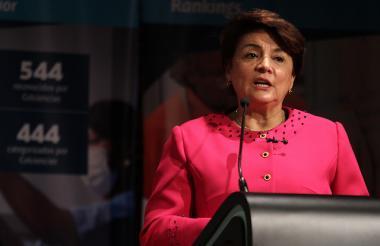 Dolly Montoya Castaño, Vicerrectora de investigación de la Universidad Nacional.