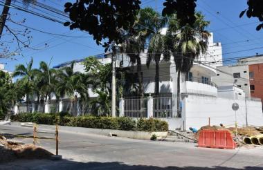Casa de Enilce López ubicada en la carrera 59 con calle 91.