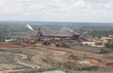 La minera colombiana Cerro Matoso produce ferroníquel, aleación de hierro y níquel.