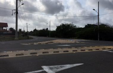 Entrada a Sabanilla por Los Manatíes.