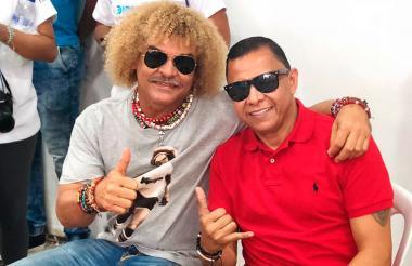 Los jugadores hicieron parte de un evento en Barranquilla.