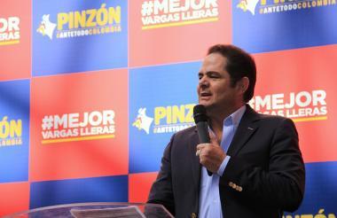 Germán Vargas Lleras, en un evento de campaña.