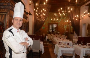 El chef Dominique Oudín le rindió homenaje en el restaurante 1621 a Bocuse.